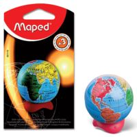 Maped Globe Blister Pencil Sharpener