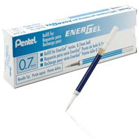 Pentel Energel Pen Refill-LR7 (0.7mm, Orange, 20 Pcs)