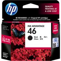 HP 46 Black Ink Cartridge(CZ637AA)