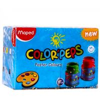 Maped Color Peps Poster Color, 6 Shades