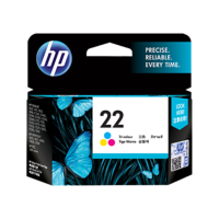 HP 22 Tri-color Ink Cartridge C9352AA