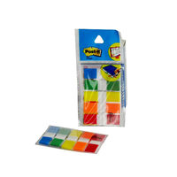 3M Post it Flags, 60 sheets, 5 Colours