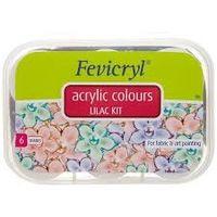 Fevicryl Lilac Kit Assorted 6 Shades