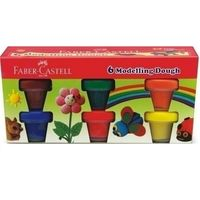 Faber Castell Modelling Dough- Set of 6