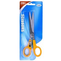 "Deli Scissors 178mm 7"" W6013 (Pack of 3)"