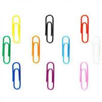 Gem Paper Clip Coloured 35mm