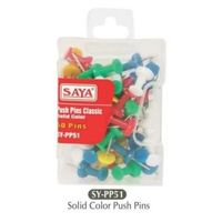 Saya Push Pins - Solid Color(SY-PP51, Pack of 5)