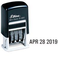 Shiny S-300 Selfink Dater Stamp