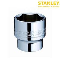 "Stanley 17mm 1/2"" Standard Socket 6 Point 1-88-739 (Pack of 3)"