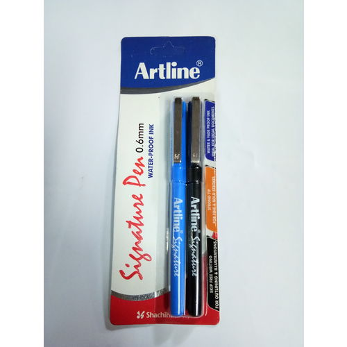 Artline Signature Pen (Pack of 2)