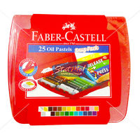Faber Castell Oil Pastel Case of 25 Snug Pack