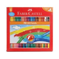 Faber Castell Oil Pastel, 50 Shades