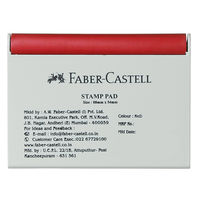 Faber Castell Stamp Pad - Small Red