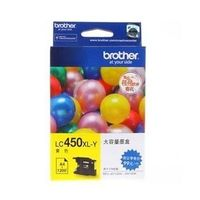 Brother LC450XLY Yellow Ink Cartridge
