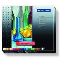 Staedtler Karat Soft Pastel Chalk, (24 Colours, Cardboard Box) 2430 C24