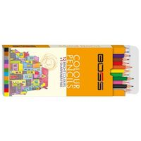 Navneet Boss Colour Pencil 12 Shades (55006)