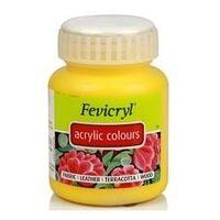Fevicryl Acrylic Colour 100ML Chrome Yellow (203)