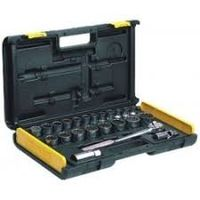 Stanley 1/2 inch Drive Metric 12 Point Socket Set 26 pcs (86-477)