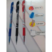 Pentel Slim-Grip Pen (Black, 10pcs)