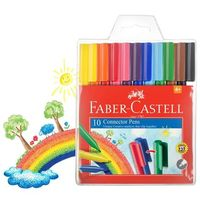 Faber Castell Connector Pens (Pack of 10)