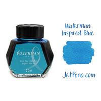 Waterman Ink Bottle 50 Ml Sea Blue