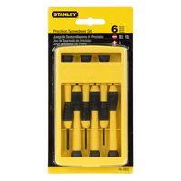 Stanley 6pcs Precision Screwdriver Set (66-052)