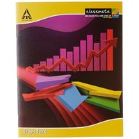 Classmate Graph Book - Soft Cover, 64 Pages, Pack of 12