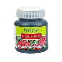 Fevicryl Acrylic Colour 500ML Black (202)