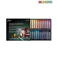 Mungyo Gallery Artist Soft Pastels (24 Colours)