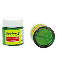 Fevicryl Pearl Metallic Green 10ML (Pack of 5) (557)
