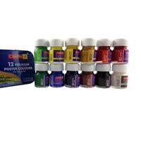Camel Camlin Premium Poster Colour (10 ml, 12 Shades)