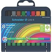 Schneider Link-It Fibre Pen (SET OF 8)