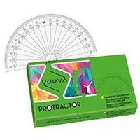 Navneet Youva Protractor 35170 (Pack of 10)