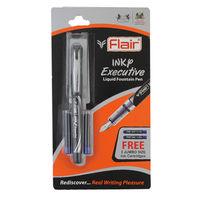 Flair Inky Executive Fountain Pen -Blue
