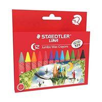 Staedtler Luna Jumbo Wax Crayons 12 Shades (2210 LC12)