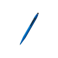 Cross Tech II Stylus with Satin Black Trim Ball Pen Metallic Blue(AT0652-6)