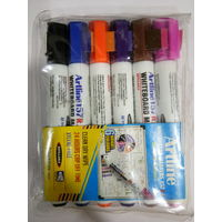 Artline 157Ri Whiteboard Marker (Assorted 6 Colours) , mixed, mixed