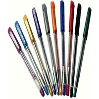 Flair Glitter Gel Pen-10 Assorted Colours