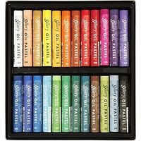 Mungyo Gallery Artist Soft Oil Pastels (24 Colours)
