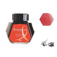 Waterman Ink Bottle 50 Ml Red