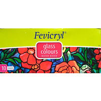 Fevicryl Water Based Glass Colour 10 Shades