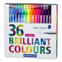 Staedtler Triplus Fineliner Pen (36 colors) 334 C36P