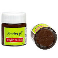 Fevicryl Acrylic Colour Vandyke Brown 15ML (237) (Pack of 5)