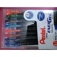 Pentel Energel Colour Roller gel pen (8 Colours)