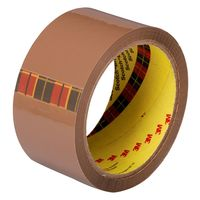 "3M Scotch 2"" Brown Packing Tape - 48mm, 35 mtrs, Pack of 6"