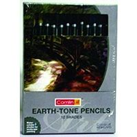 Camel Earthtone Graphite Pencils (Pack of 12)