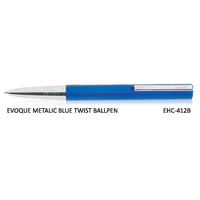 Signac Evoque Twist Ball Pen Metallic Blue (EHC-412B)