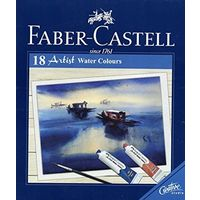 Faber Castell Artist Water Colour - 9ml, 18 Shades