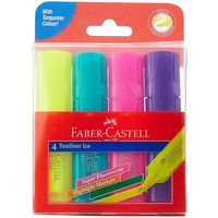 Faber Castell Ice Textliner Assorted (Pack of 4)