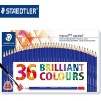 Staedtler Ergosoft Water Color Pencil 36 Shades Metal Box (156 M36)